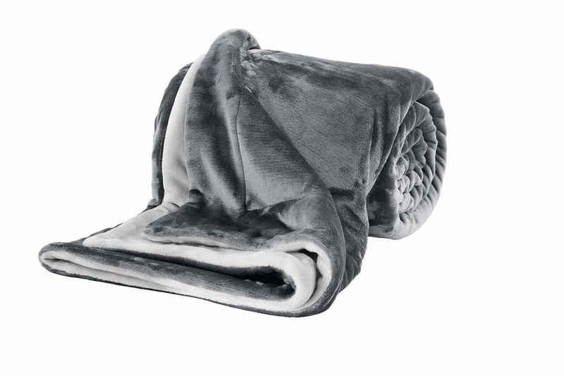 Wohndecke »Doublesoft«, s.Oliver, praktische Wendedecke