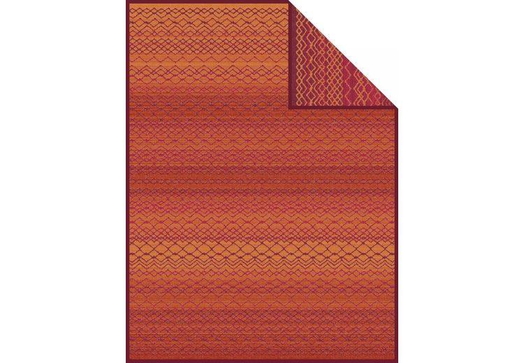 Wohndecke, Ibena, »Rundu«, mit feinen Mustern