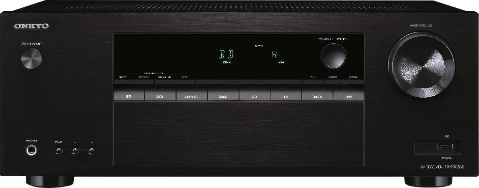 Onkyo TX-SR252 5.1-Kanal AV-Receiver (3D)