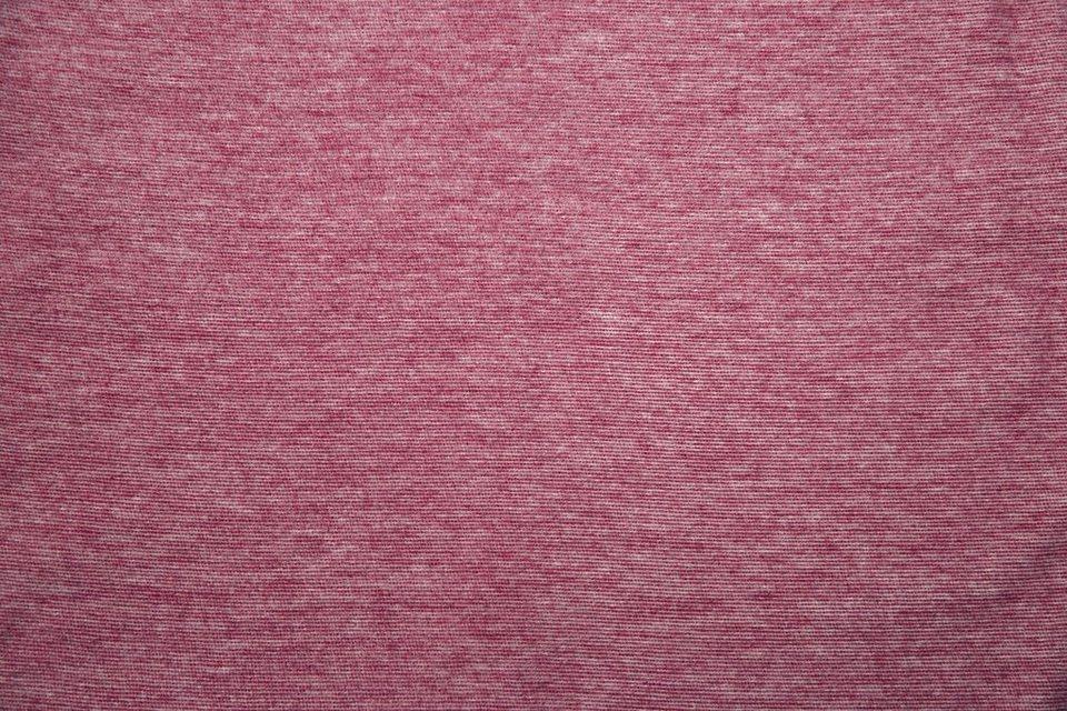 Wohndecke, Ibena, »Genua«, in melierter Optik in rot
