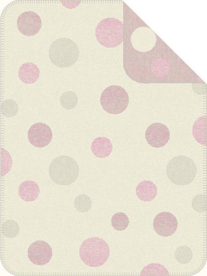 Kinderdecke, s.Oliver RED LABEL Junior, »Dot«, mit Punkten in rosa