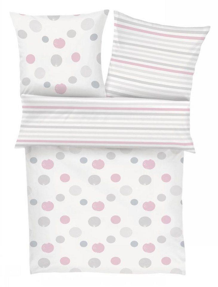 Kinderbettwäsche Dot Soliver Junior Mit Streifen Punkten