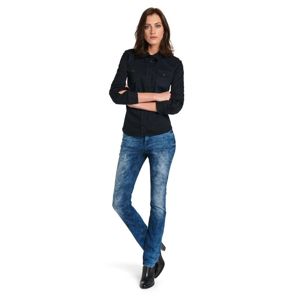 H.I.S Jeans »Marylin, aufwendige Waschung« in mellow wash