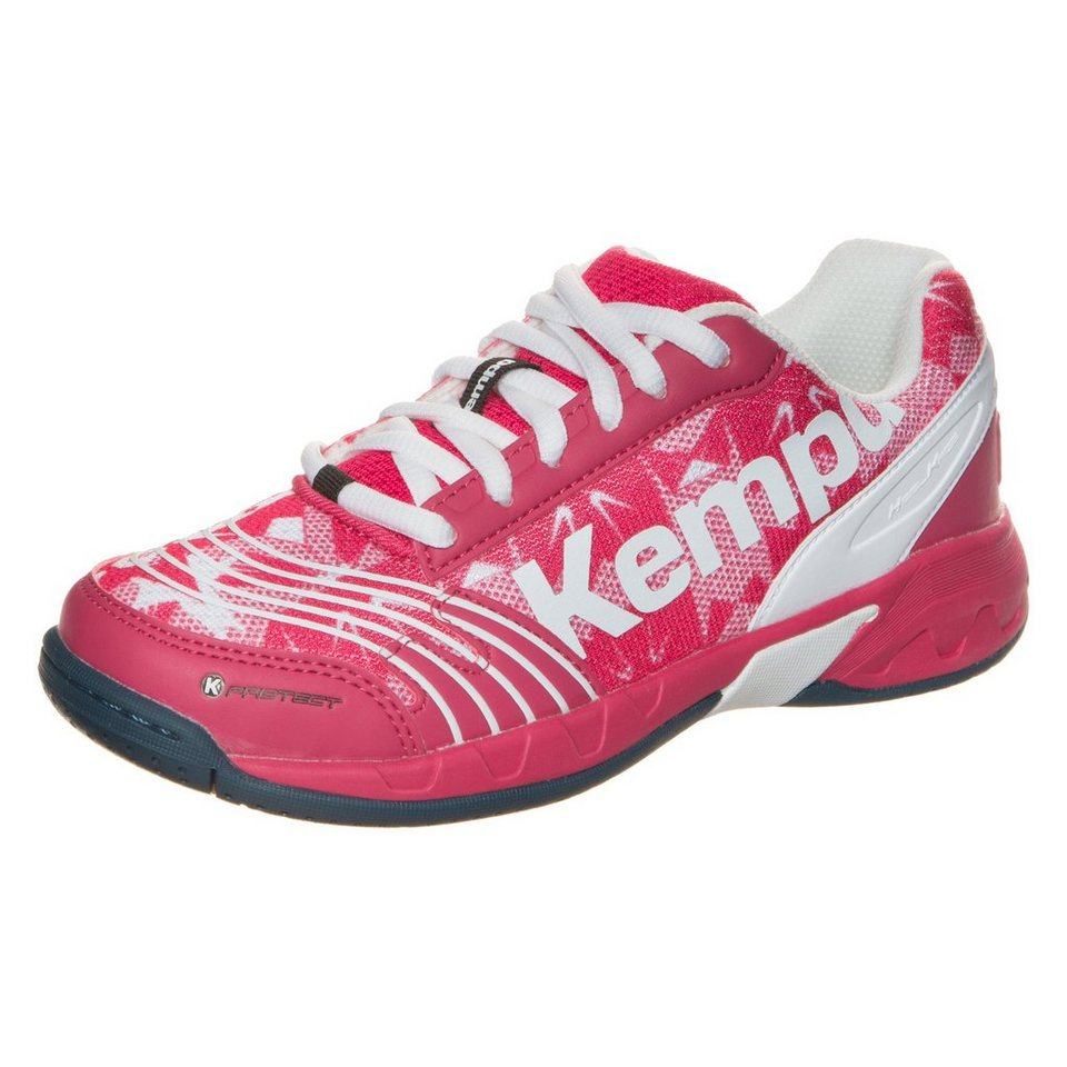 KEMPA Attack Junior Handballschuh Kinder in magenta / weiß