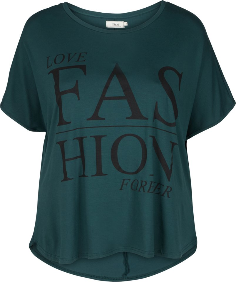 Zizzi T-Shirt in Green Gables