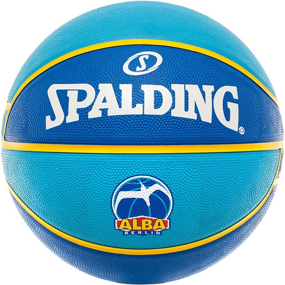 SPALDING EL Team ALBA Berlin Basketball in blau / hellblau