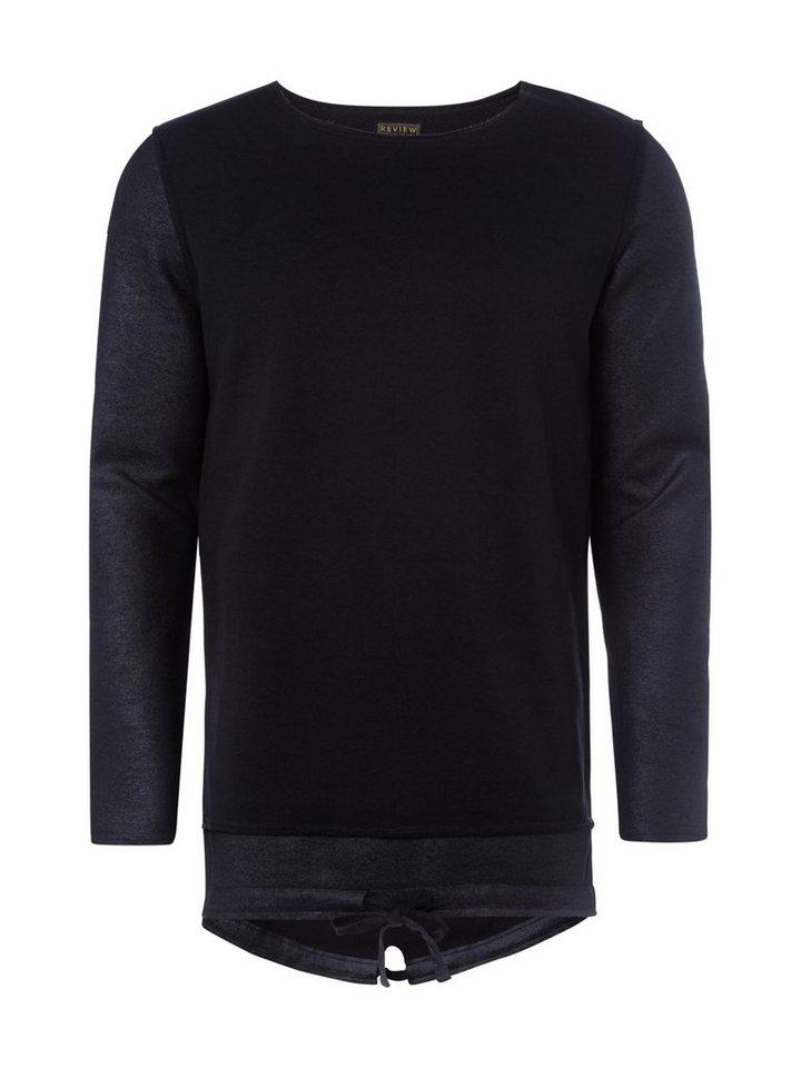 REVIEW Sweatshirt in BLACK