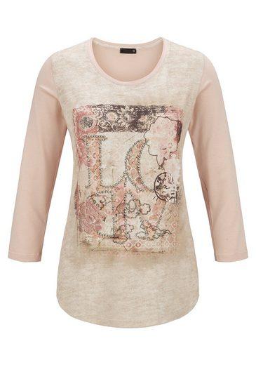 Thomas Rabe Shirt mit Print und Text