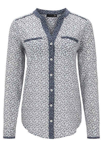 Thomas Rabe Bluse mit Allover-Print Sale Angebote Proschim