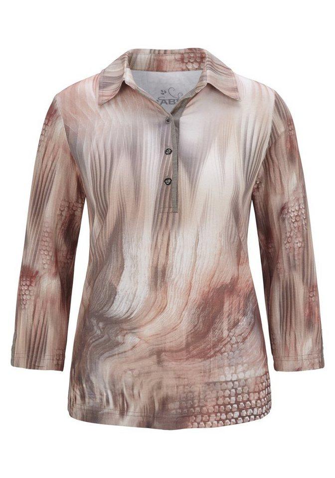 Rabe Shirtbluse mit Print in SIENA