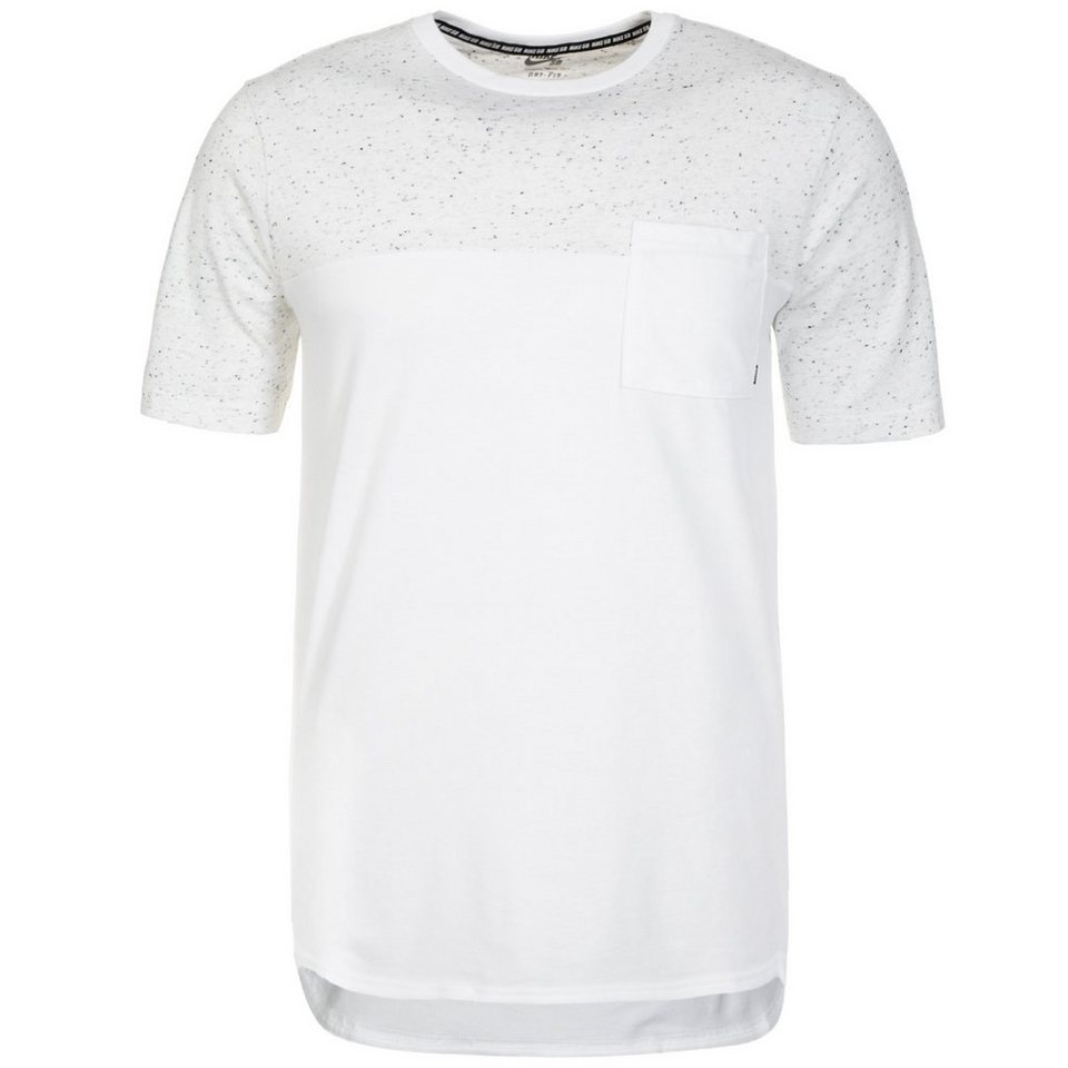 NIKE Dri-FIT Nepps T-Shirt Herren in weiß / hellgrau