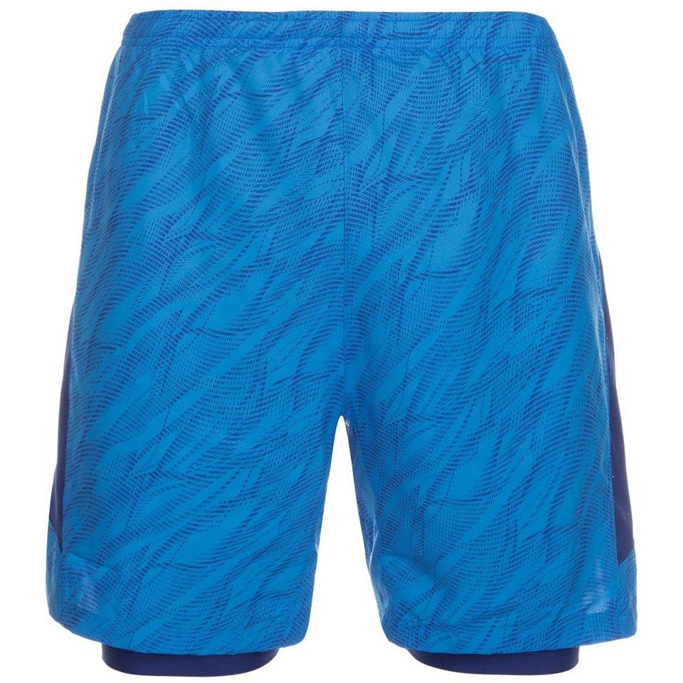 NIKE Flex Laufshort Herren in blau / dunkelblau