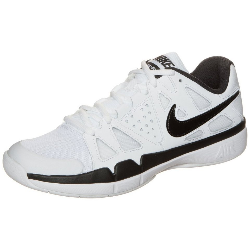 NIKE Air Vapor Advantage Carpet Tennisschuh Herren in weiß / schwarz