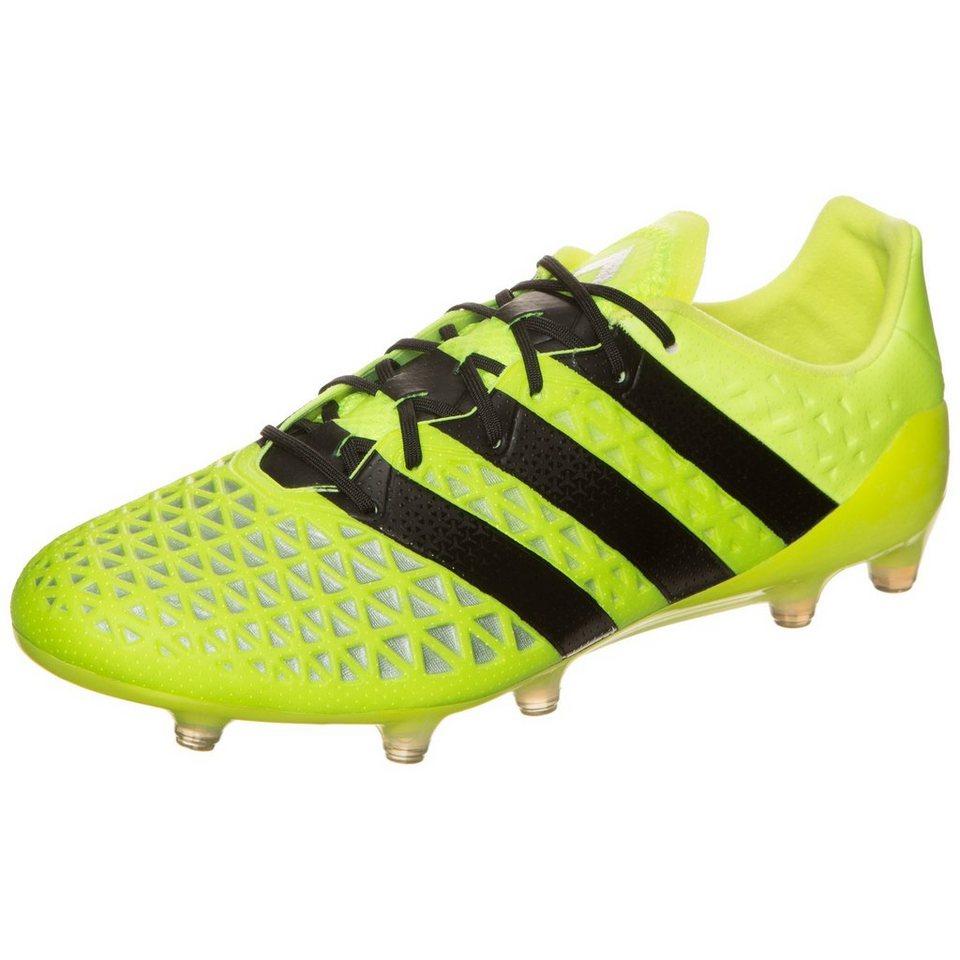 adidas Performance ACE 16.1 FG Fußballschuh Herren in gelb / schwarz