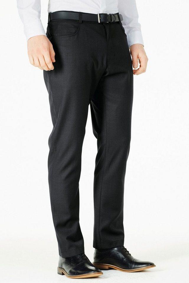 Next Hose aus Wollgemisch in Schwarz
