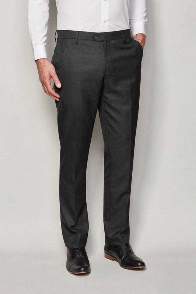 Next Strukturierte Hose in Schwarz Slim-Fit