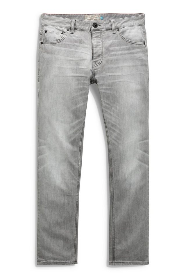 Next Slim-Fit Light Grey Sretch-Jeans in Grau Slim-Fit