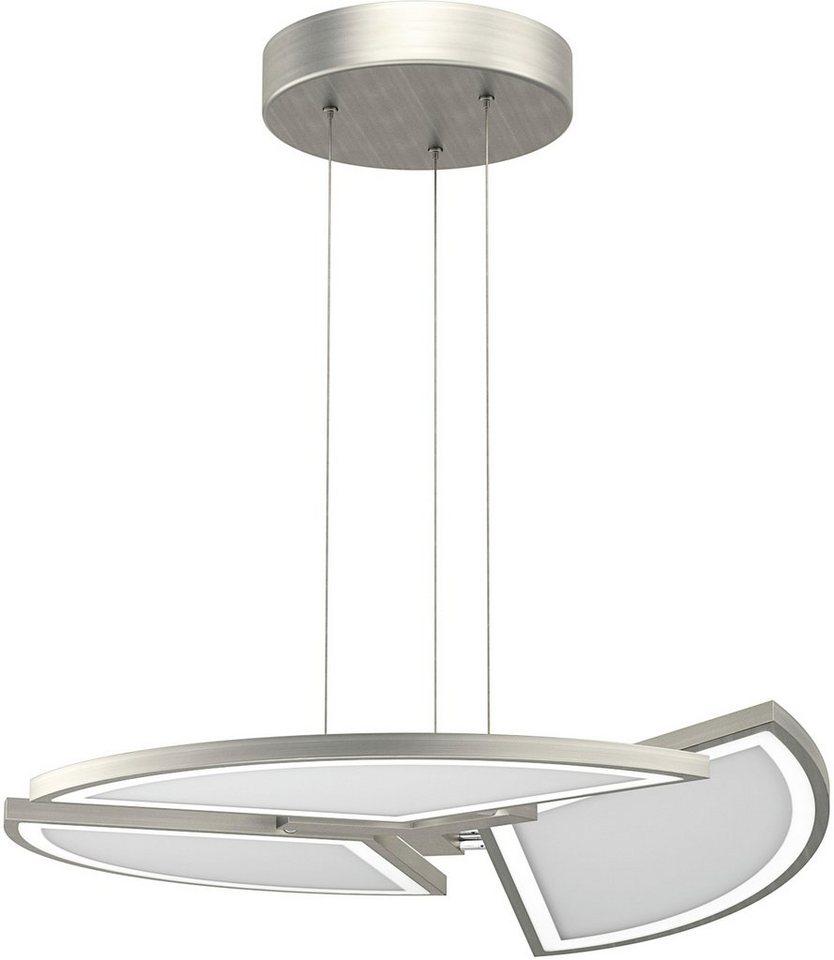 EVOTEC LED-Pendelleuchte, 3flg., »MOVIL« in nickelfb. gebürstet