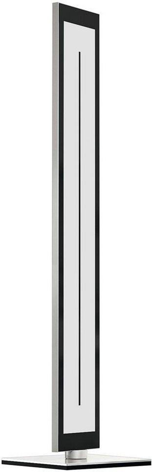 EVOTEC LED-Stehleuchte, 1flg., »ZEN« in alu , nickelfb. gebürstet, Innenrahmen schwarz