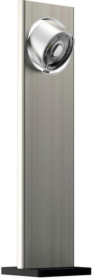 EVOTEC Tischleuchte, 1flg., »LIGHT WAVE« in aluminium, nickel gebürstet