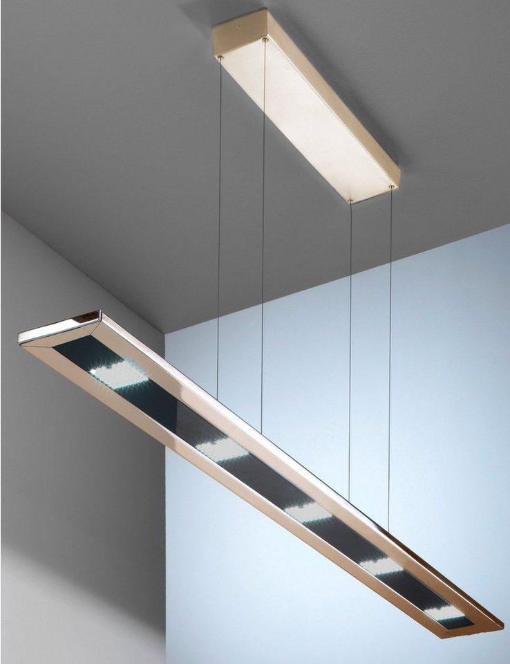 EVOTEC LED-Pendelleuchte, 5flg., »DESIGNLINE« in nickelfarben
