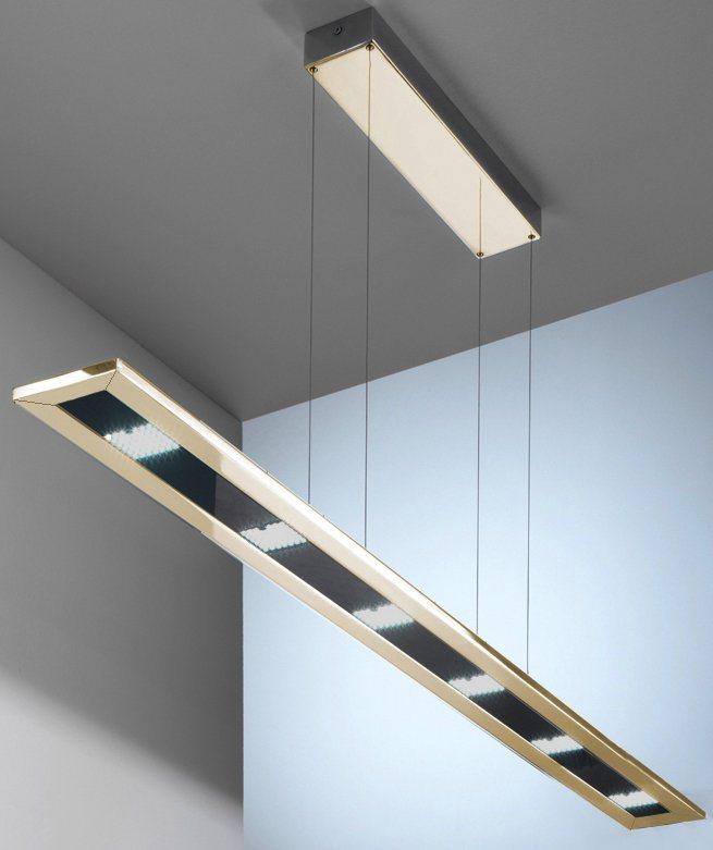 EVOTEC LED-Pendelleuchte, 6flg., »DESIGNLINE« in nickelfarben