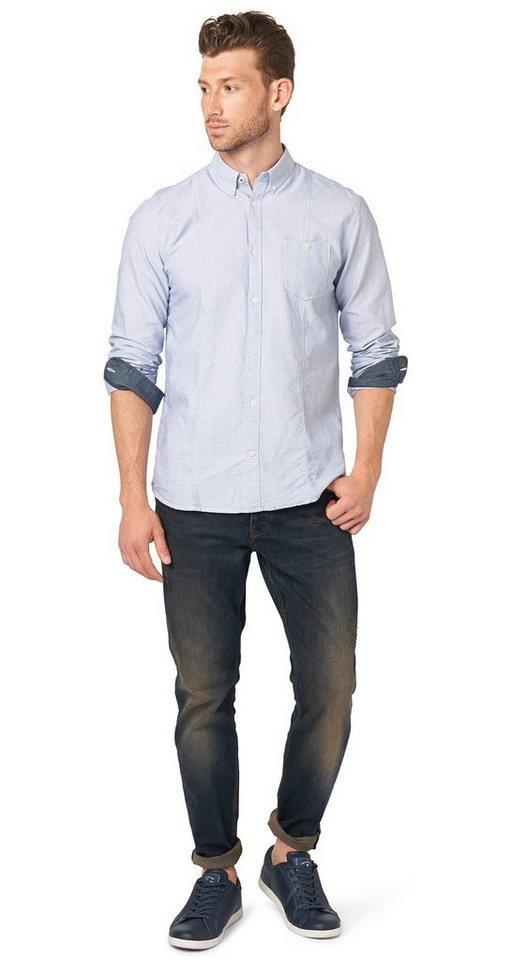 TOM TAILOR Jeans »Josh regular slim« in dirty destroyed vint
