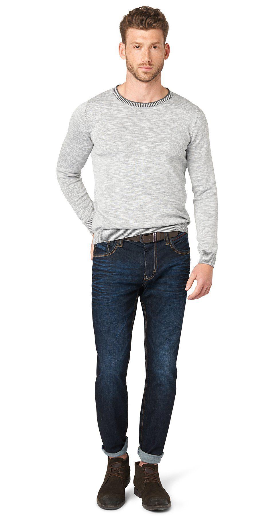 TOM TAILOR Jeans »Jeans mit Gürtel«