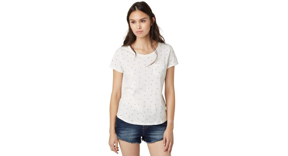 TOM TAILOR DENIM T-Shirt »modern loose print shirt«