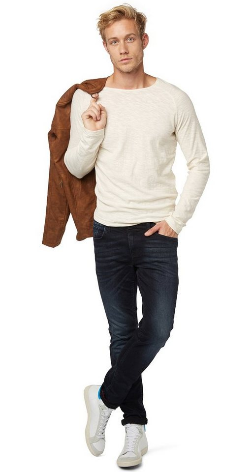 tom tailor denim jeans jeans mit waschung kaufen otto. Black Bedroom Furniture Sets. Home Design Ideas