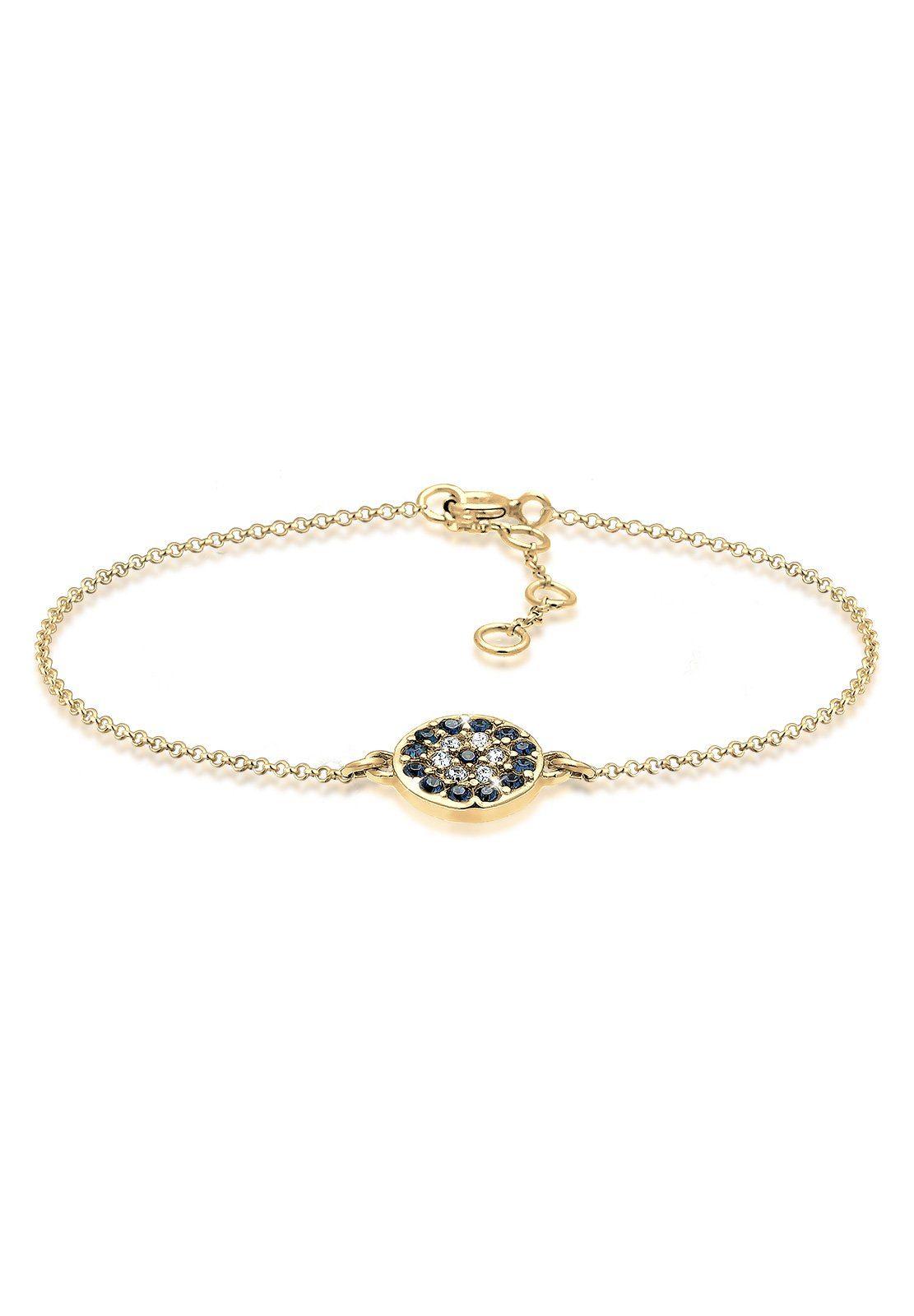 Elli Armband »Evil Eye Swarovski Kristalle vergoldet«
