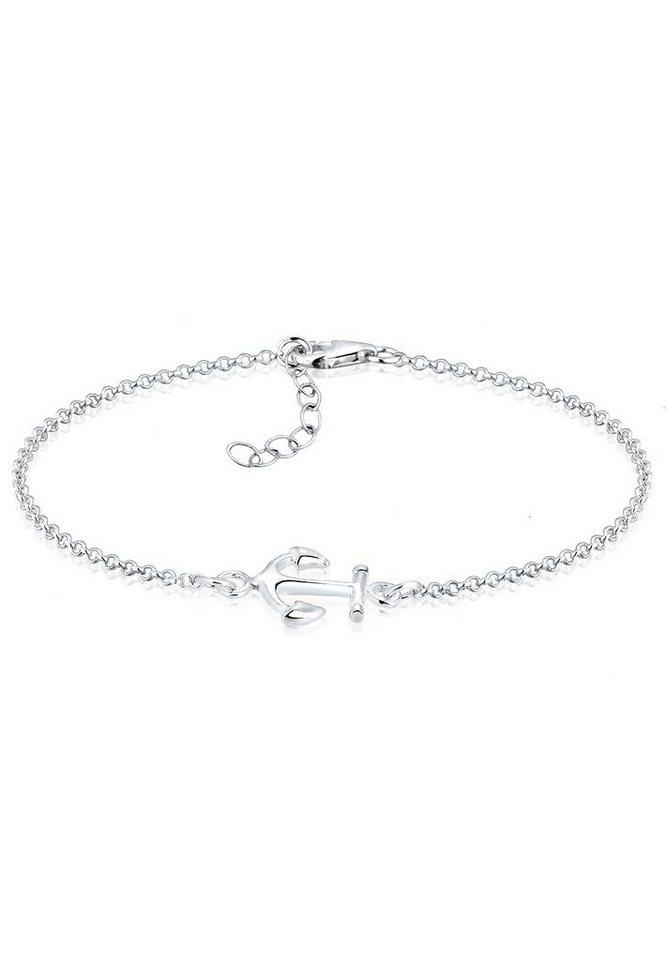 Elli Armband »Anker Silber« in Silber