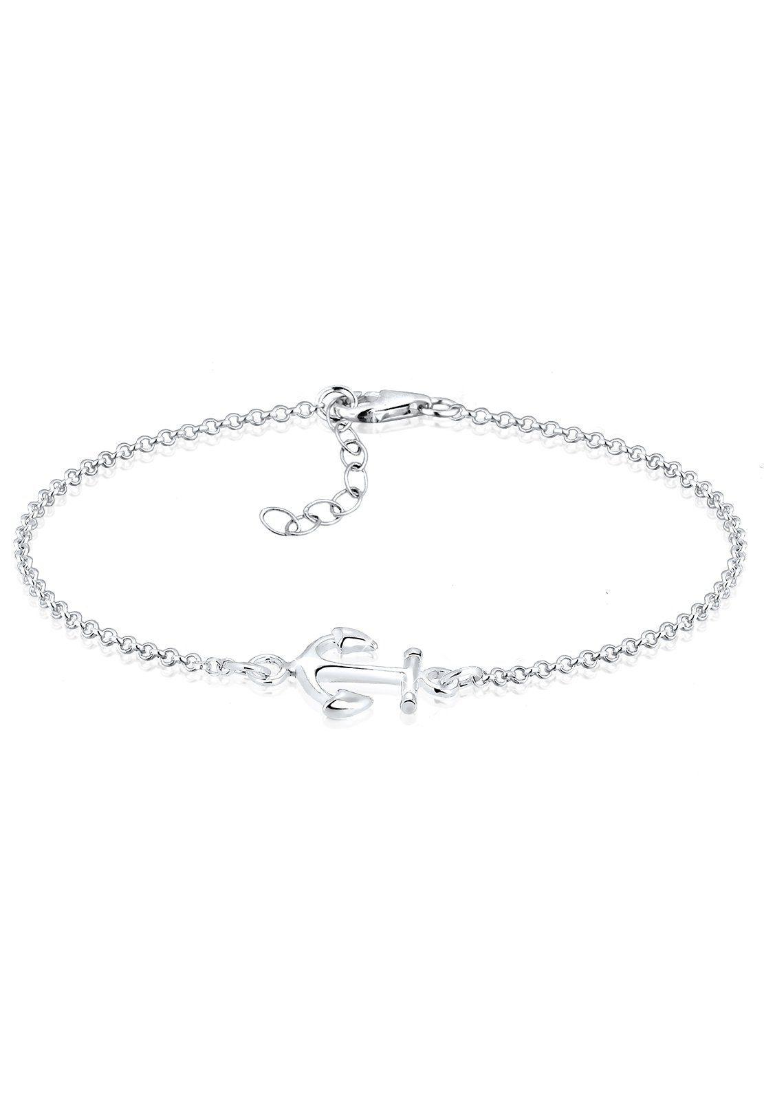 Elli Armband »Anker Maritim Segler Trend Symbol Silber«