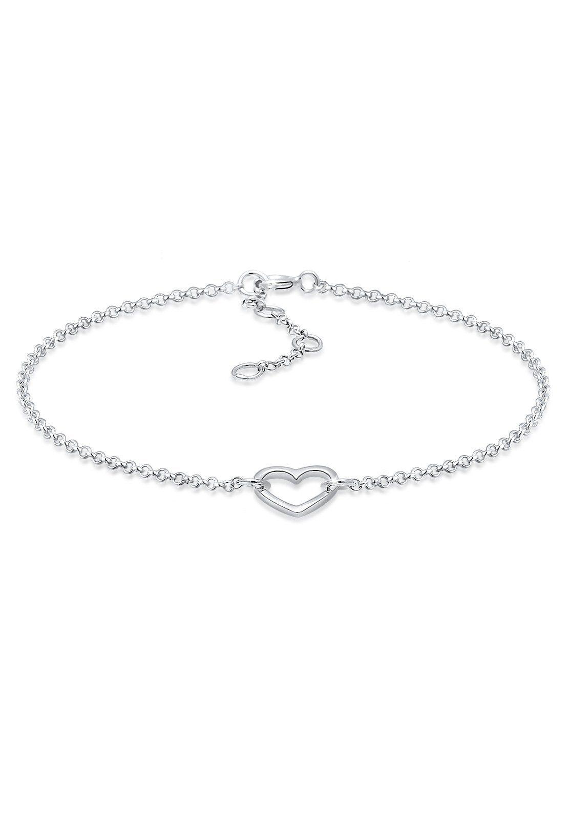 Elli Armband »Herz Liebesbeweis Geschenkidee 925 Silber«