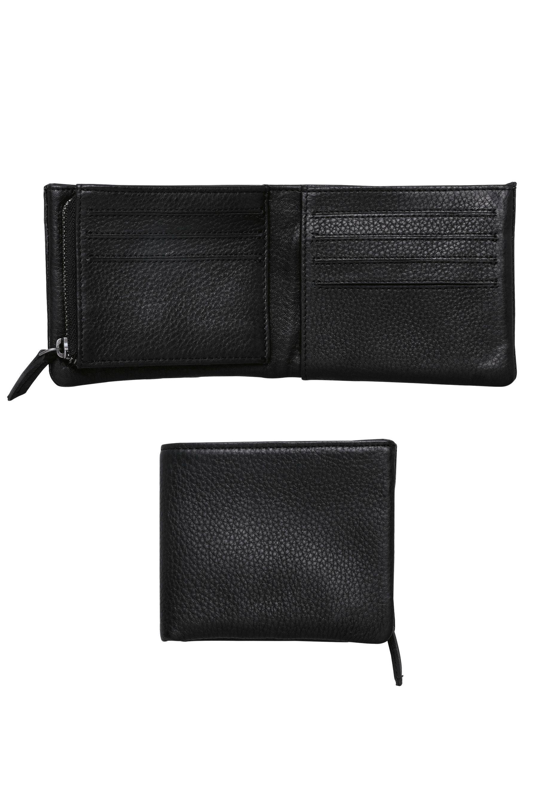 Next Brieftasche aus Leder mit Reißverschluss