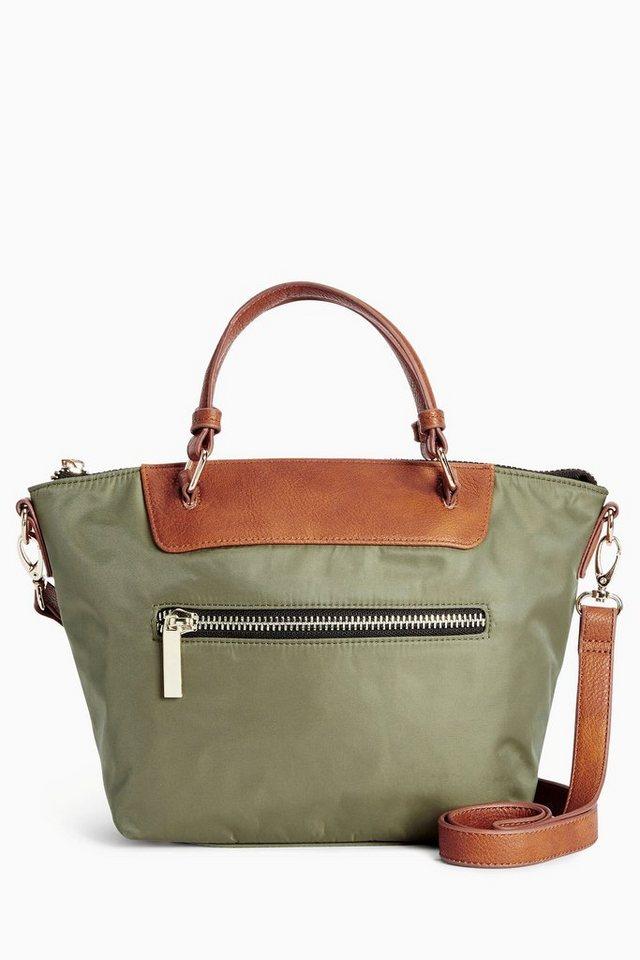 Next Kleine Tasche aus Nylon in Grün