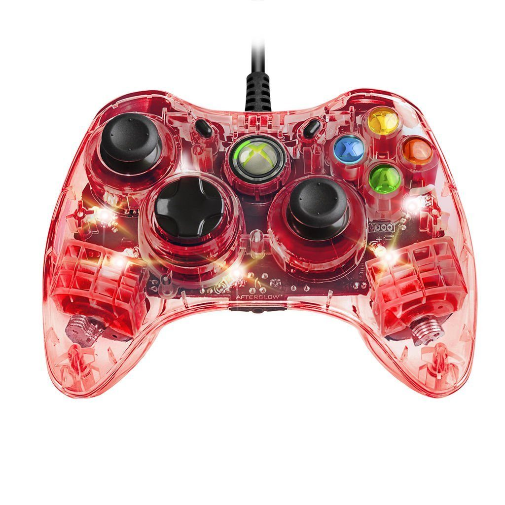 PDP XBOX 360 - Zubehör »Afterglow XBOX360 Controller (Smart Track) - rot«