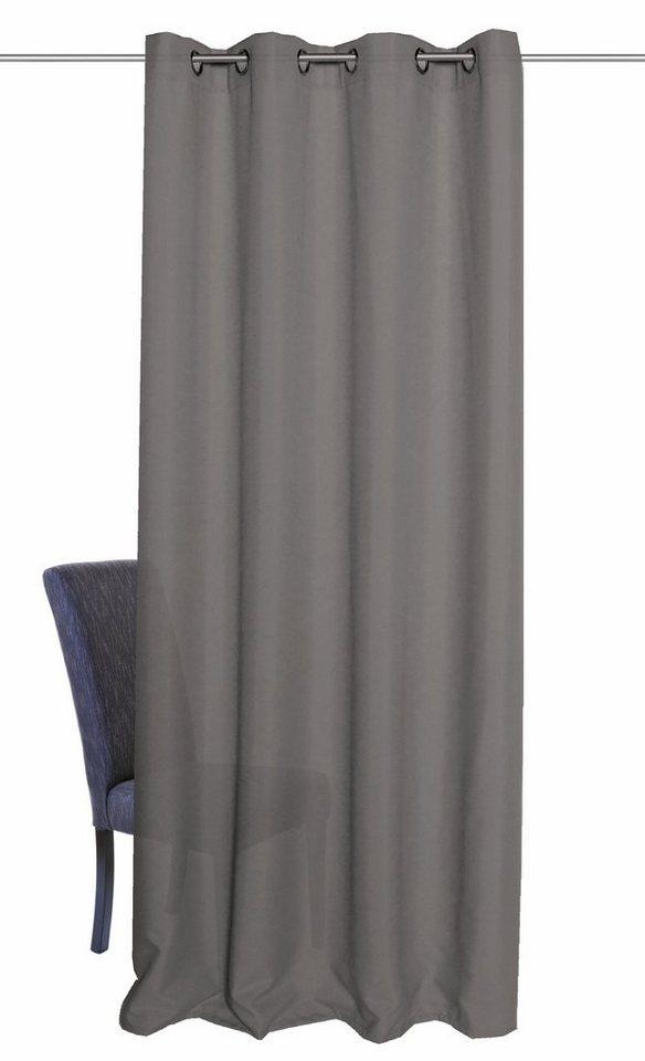 Vorhang, Home Wohnideen, »BOB«, mit Ösen (1 Stück) in grau