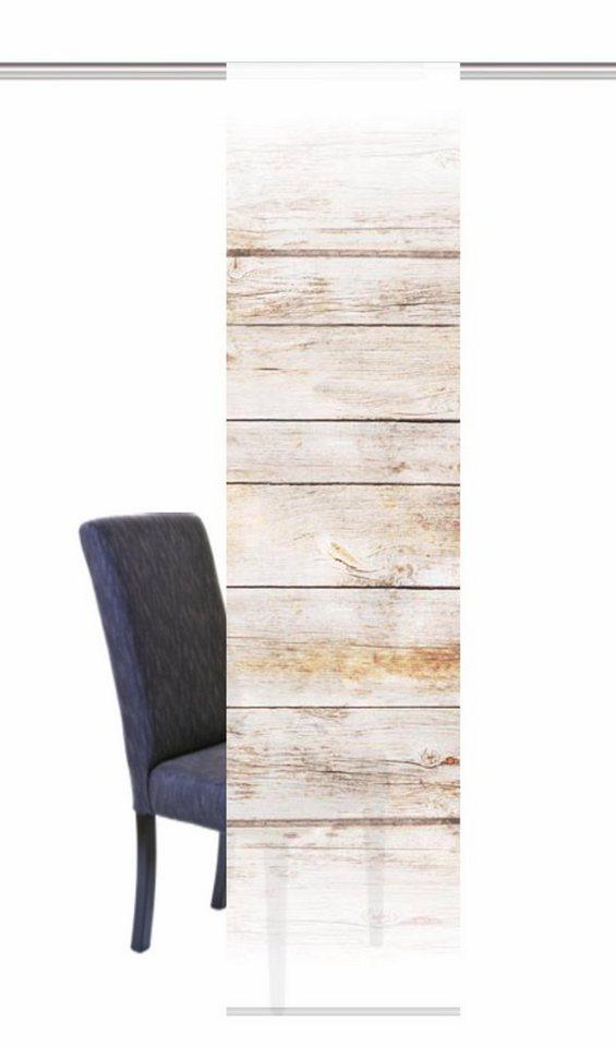 schiebegardine home wohnideen board mit klettband 1 st ck mit zubeh r online kaufen otto. Black Bedroom Furniture Sets. Home Design Ideas