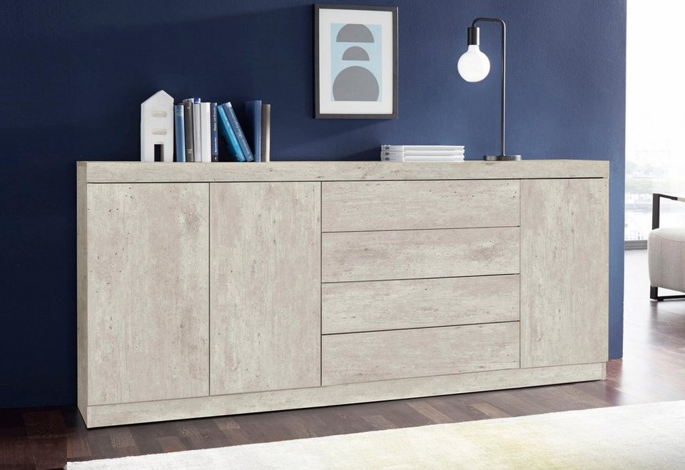 sideboard breite 190 cm online kaufen otto. Black Bedroom Furniture Sets. Home Design Ideas