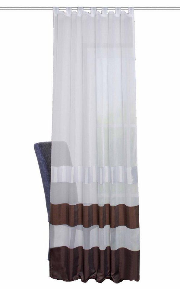 Vorhang, Home Wohnideen, »REMO«, mit Schlaufen (1 Stück) in braun