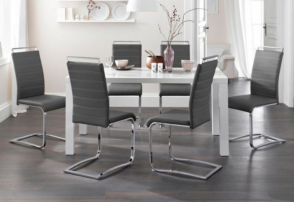 freischwinger 2 oder 4 st ck online kaufen otto. Black Bedroom Furniture Sets. Home Design Ideas
