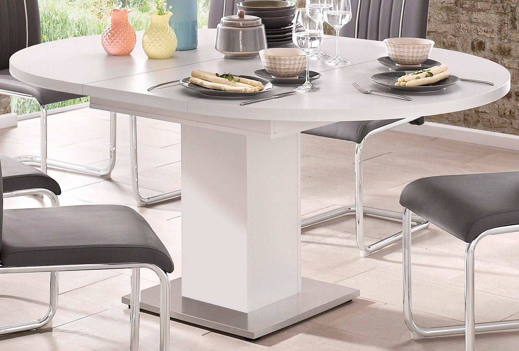 Tischplatte rund 120 cm buche preisvergleich die besten for Runder esstisch modern
