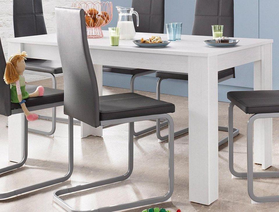 homexperts esstisch breite 140 cm online kaufen otto. Black Bedroom Furniture Sets. Home Design Ideas