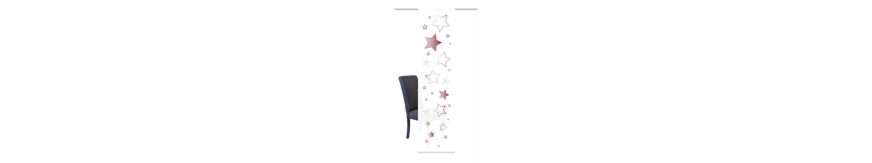 Schiebegardine, Home Wohnideen, »STARS« (1 Stück mit Zubehör)