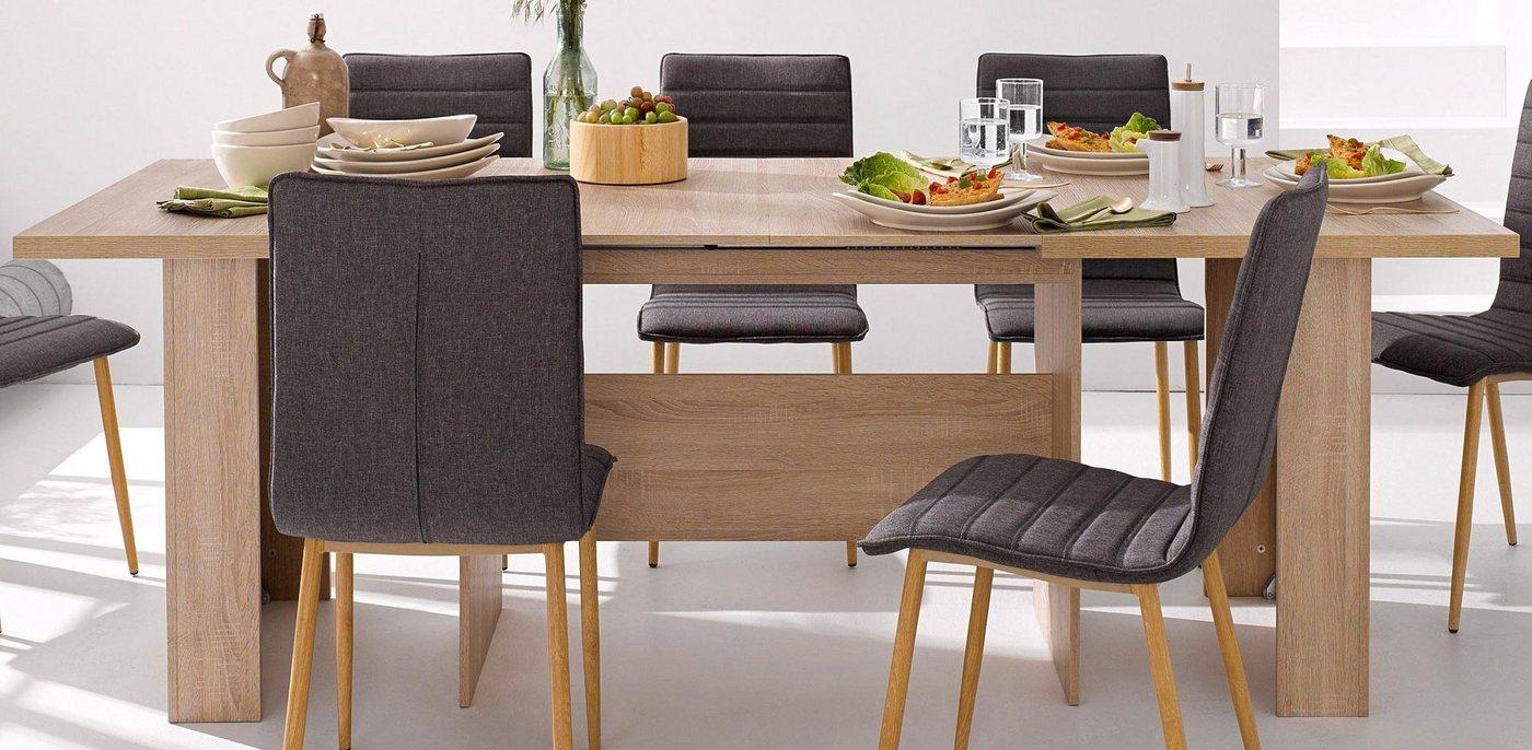 esstisch 140 cm ausziehbar preisvergleiche. Black Bedroom Furniture Sets. Home Design Ideas