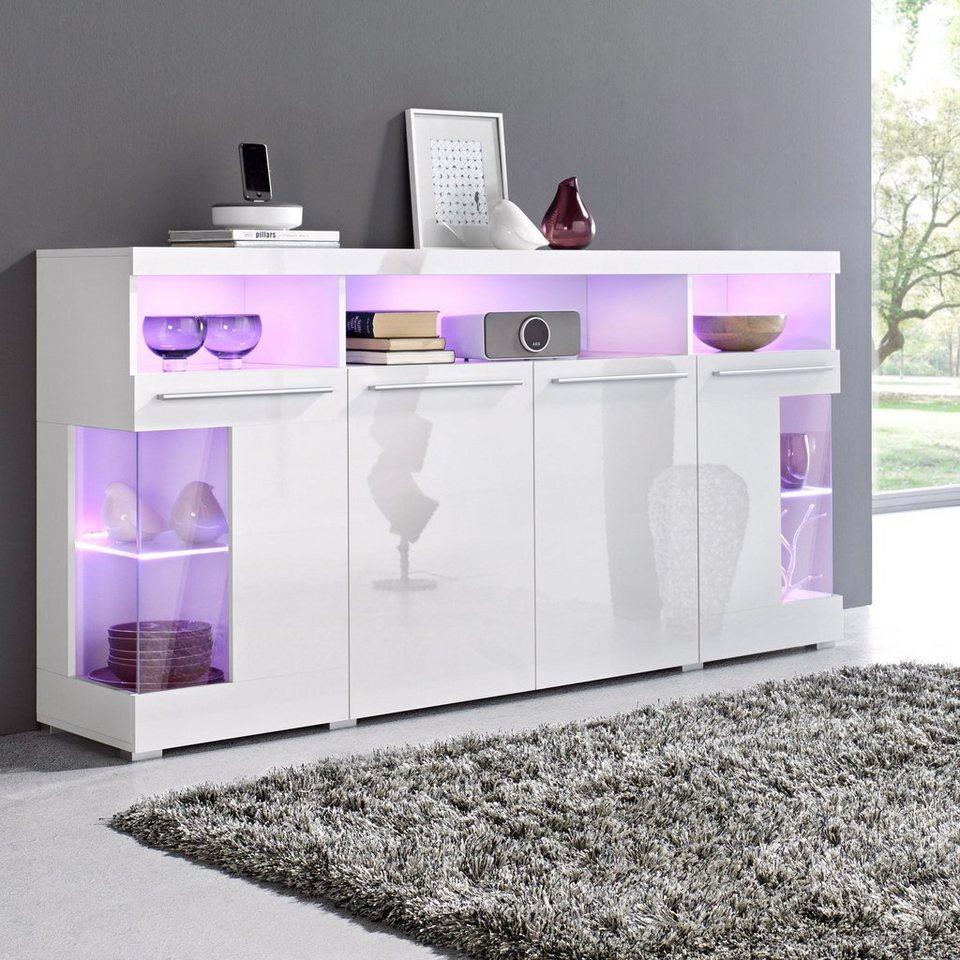 sideboard breite 182 cm online kaufen otto. Black Bedroom Furniture Sets. Home Design Ideas