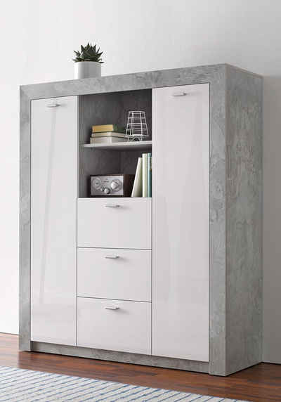 schrank 120 breit affordable breite cm schrank mit spiegel weiss schwarz neu nach innen breit. Black Bedroom Furniture Sets. Home Design Ideas