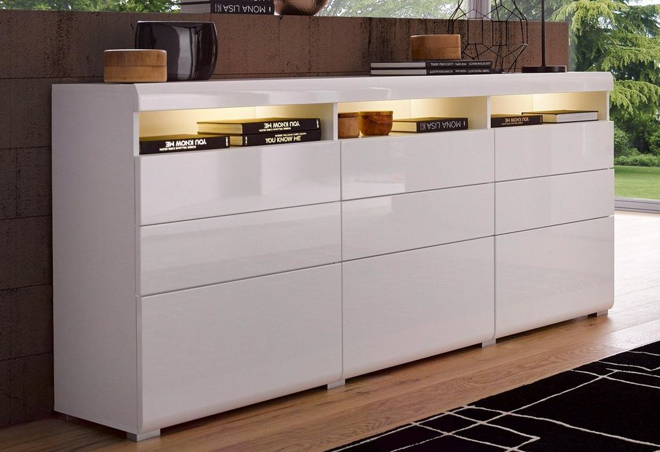 places of style sideboard breite 180 cm kaufen otto. Black Bedroom Furniture Sets. Home Design Ideas