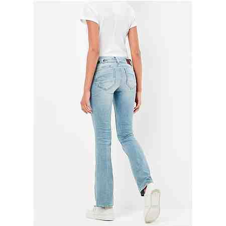 G-Star Bootcut-Jeans »Midge Saddle Mid Waist Bootleg« mit Riegel im Rücken